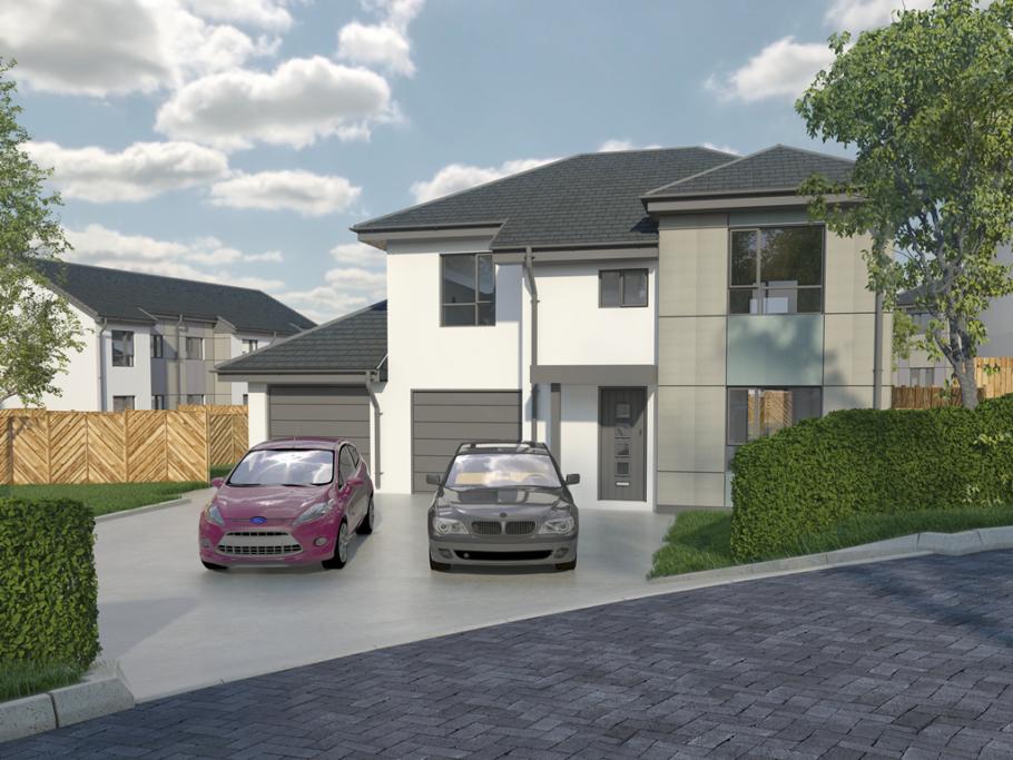 Bespoke Property Development : Bespoke build property grove park ramsey black grace