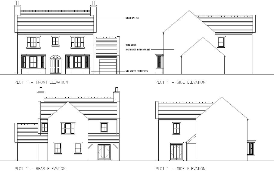 Plot 1, Clypse Cottage, Clypse Moar, Onchan Floorplan