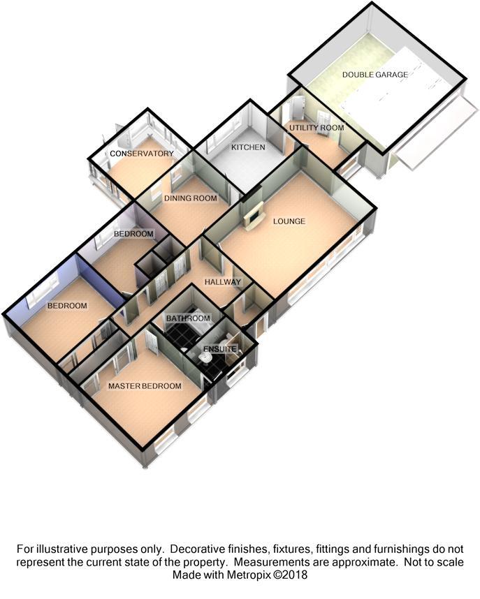 9 Vicarage Park, Braddan, Douglas Floorplan