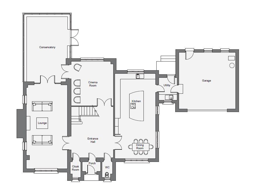 Fairhaven, 8A Lucerne Court, Douglas Floorplan