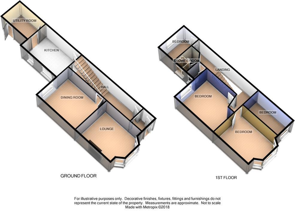 5 Falkland Drive, Onchan Floorplan