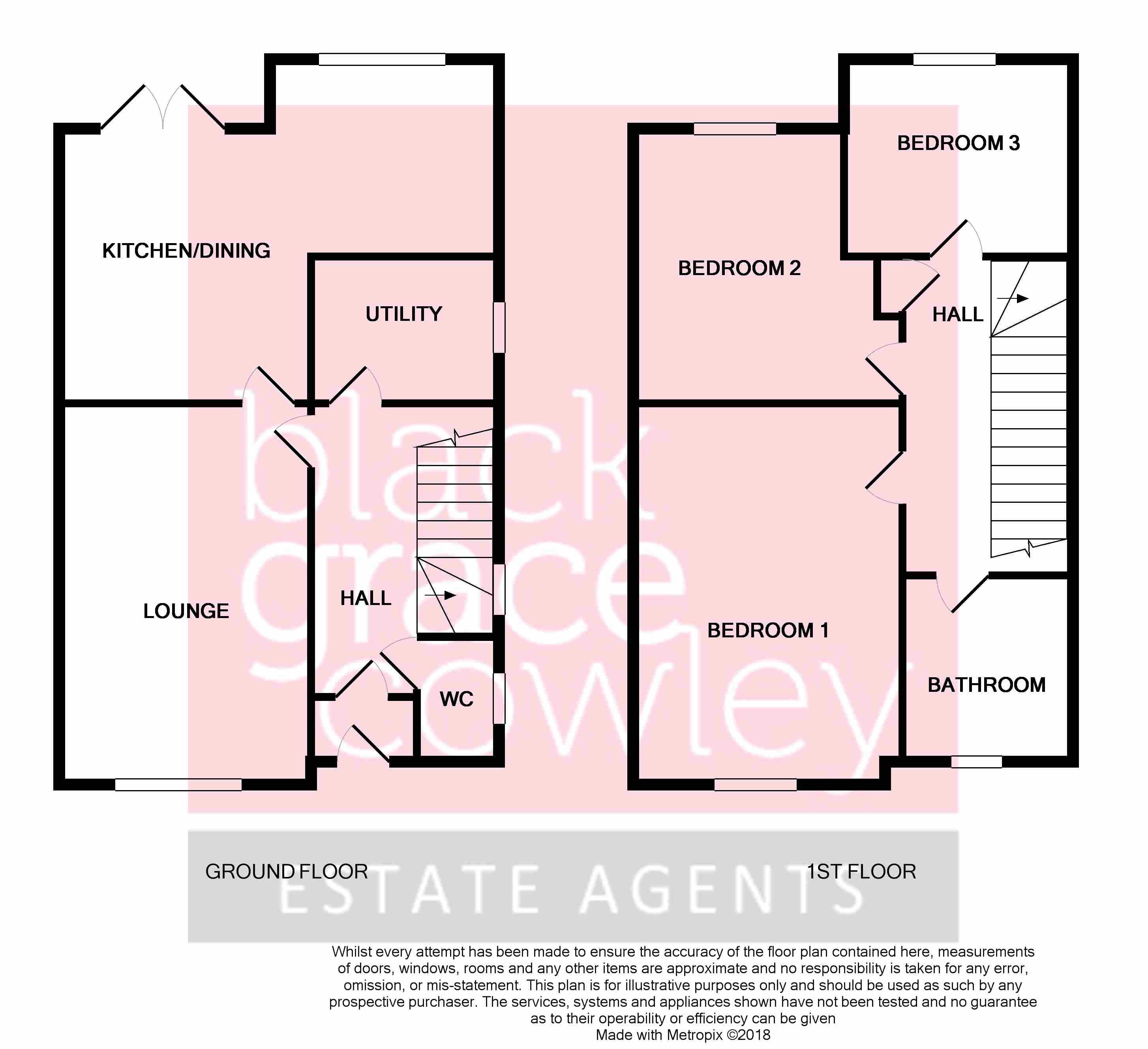 Plot 18, Grove Park, Ramsey Floorplan