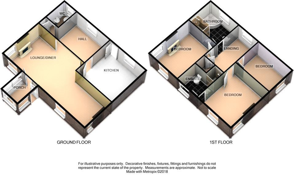 The Level Inn, Colby Level, Colby Floorplan