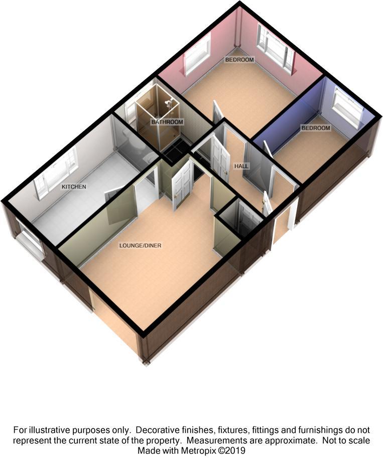 Apartment 37, Saddle Mews, Douglas Floorplan