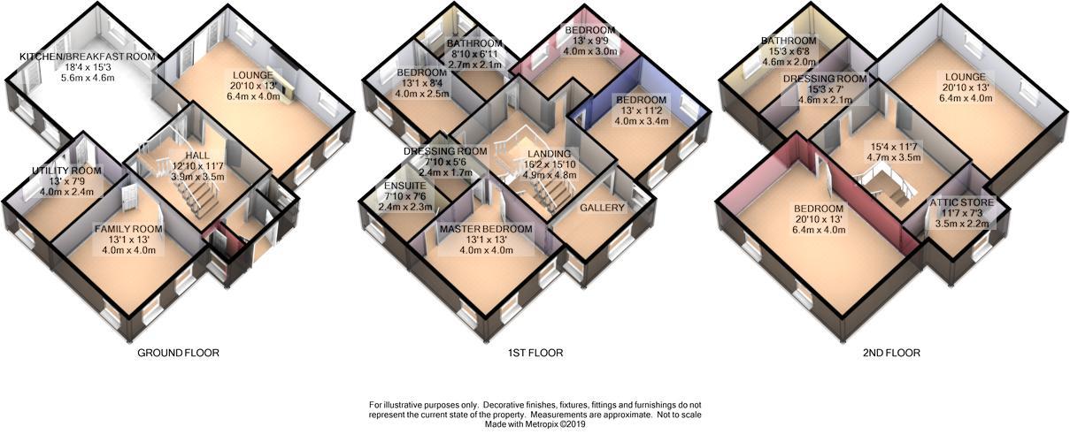 Arbor House, Glen Duff, Lezayre Floorplan