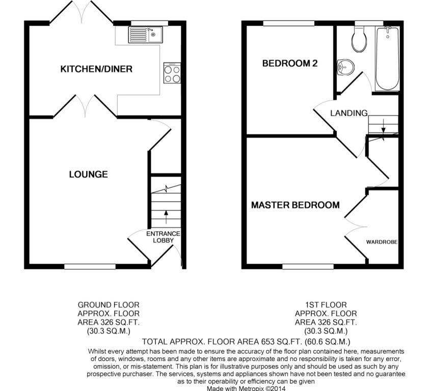 20 Auldyn Walk, Ramsey Floorplan