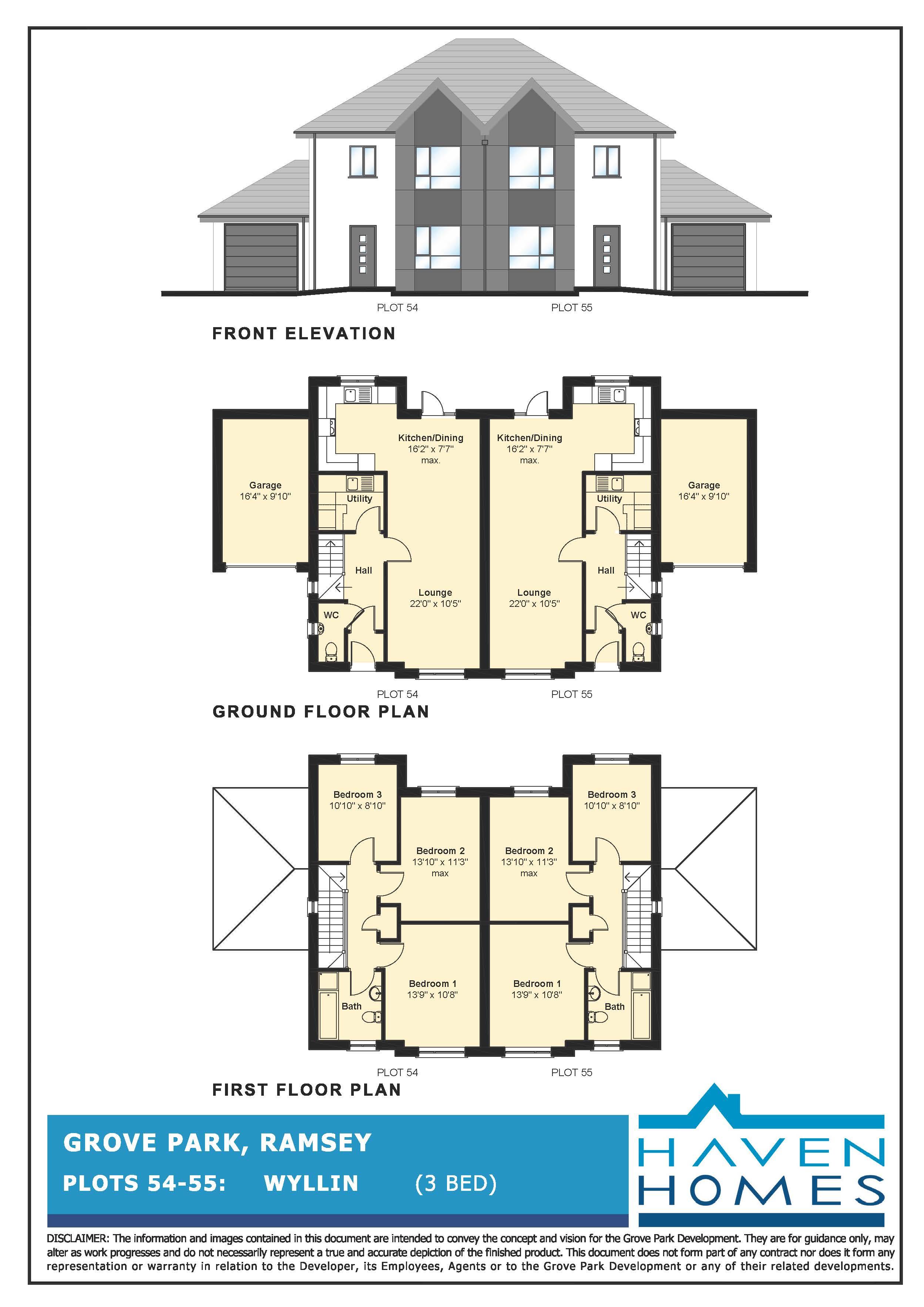Plot 54, Grove Park, Ramsey Floorplan