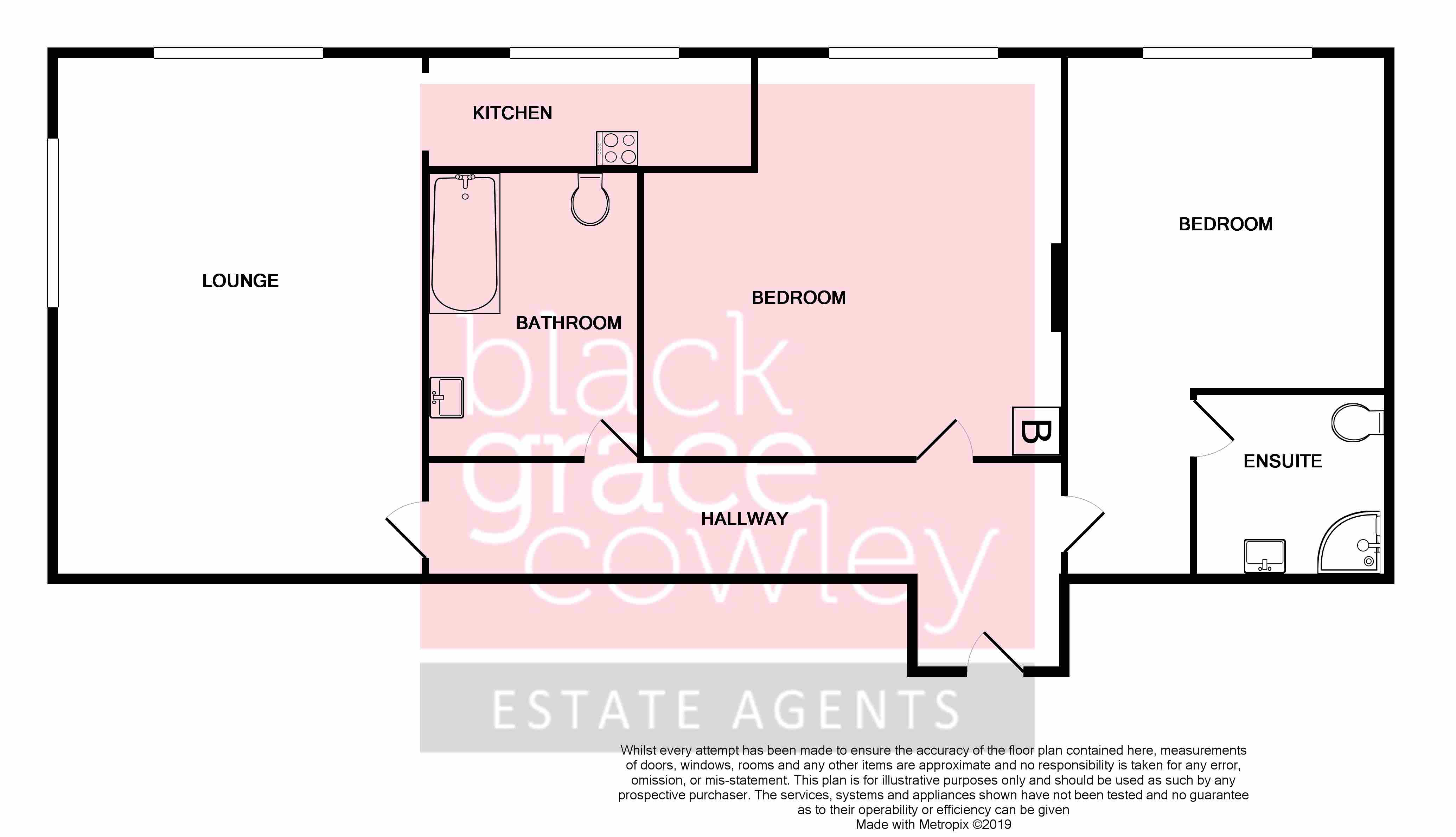 Apartment 3, 26 Main Road Floorplan