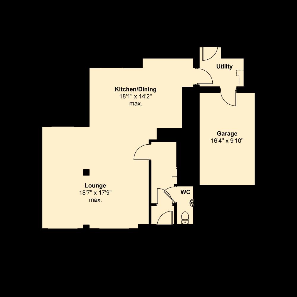 Plot 51, Grove Park, Ramsey Floorplan