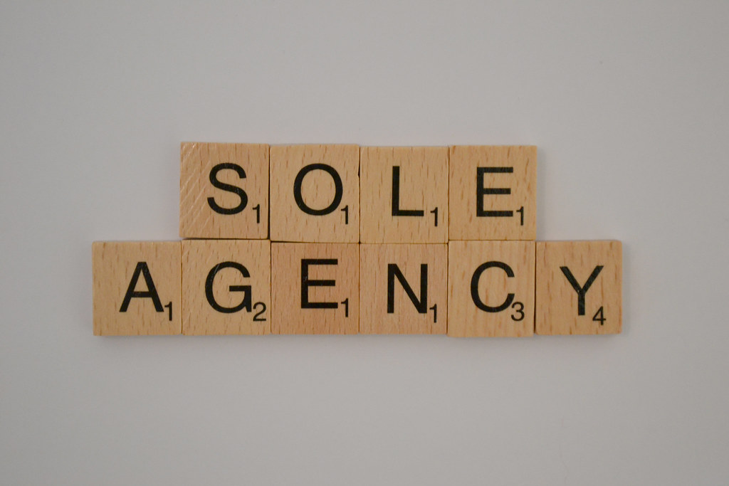 Sole Agency is to YOUR advantage….