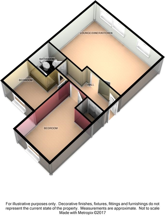 14 Century Court, Queens Promenade, Douglas, IM2 4NT Floorplan