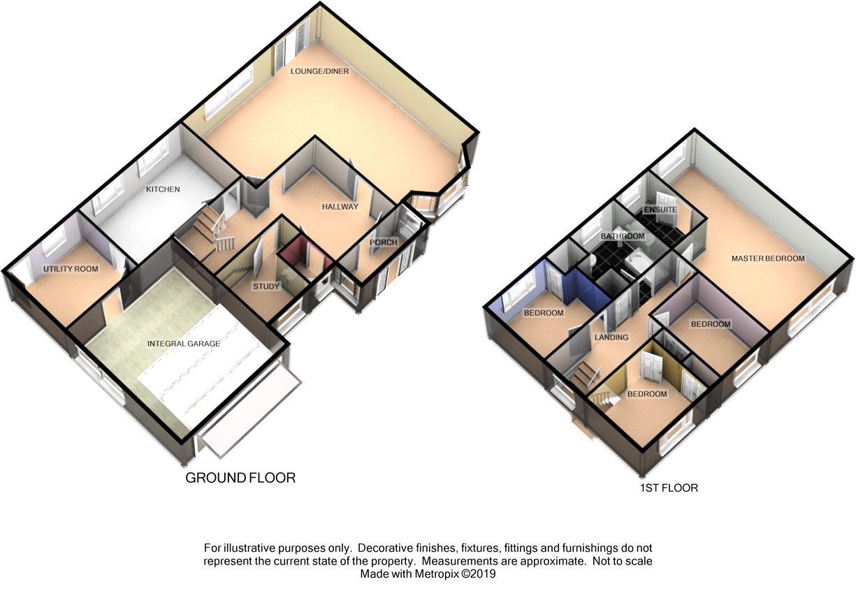 3 Devonshire Road, Douglas Floorplan