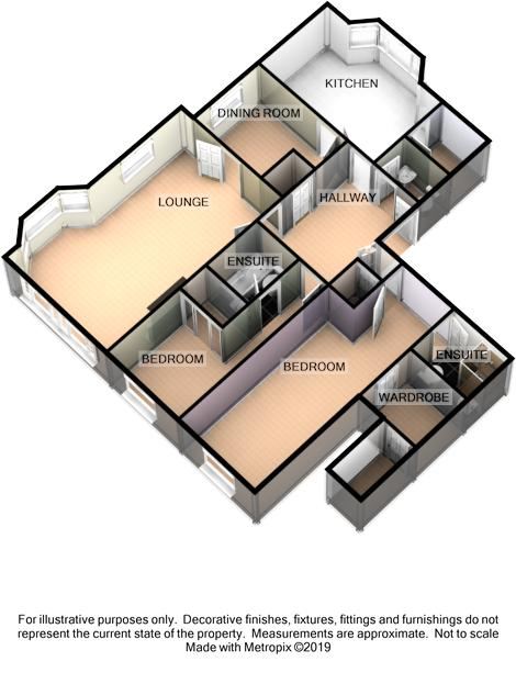 Apartment 2, Twin Lakes Apartments, Mount Murray Floorplan