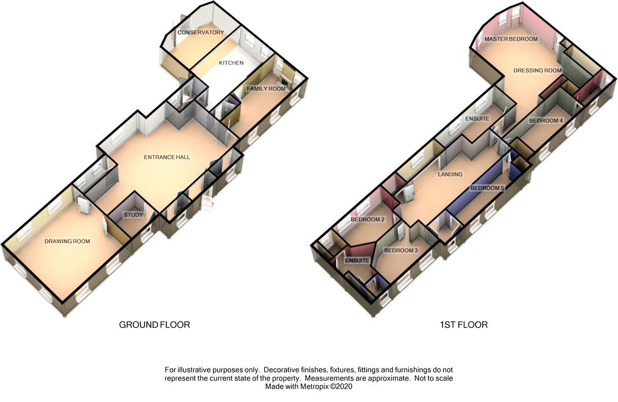 Barrowdale House, Sir Georges Bridge, Abbeylands Floorplan