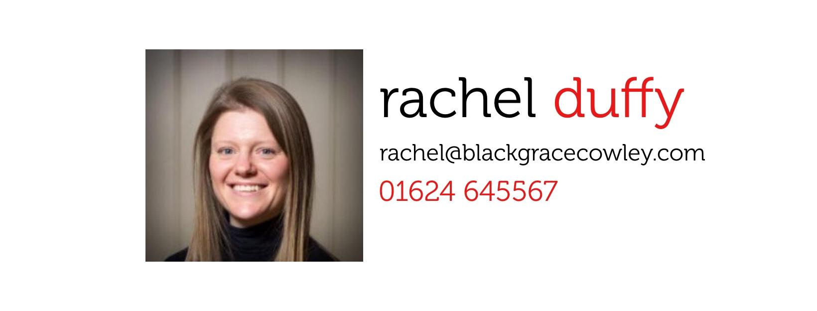 Everyone, meet Rachel!