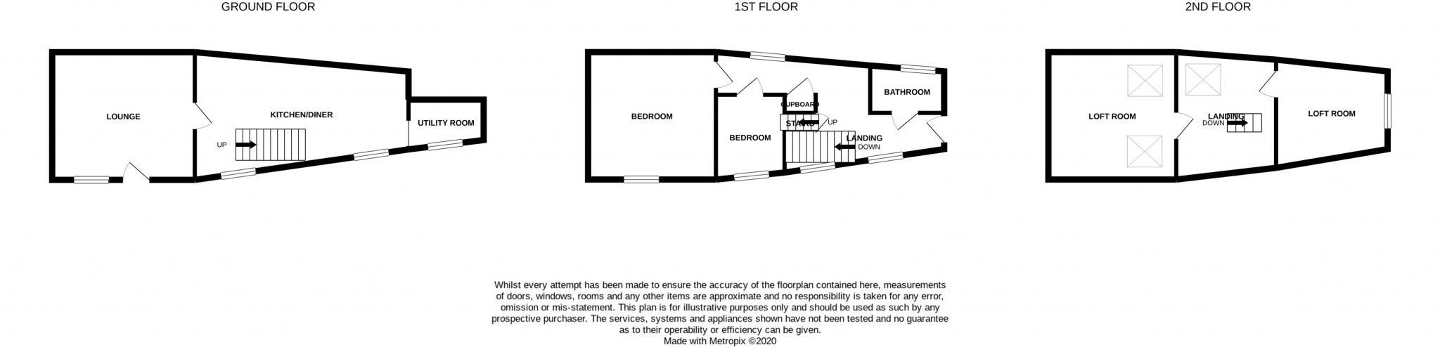 6 Market Place, Peel Floorplan