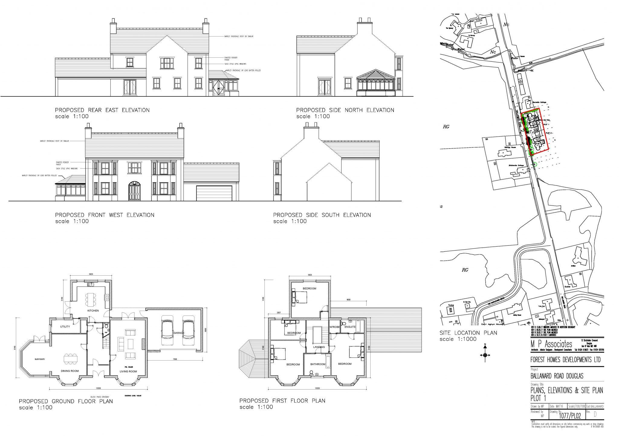 Plot 1, Shee Dy Vea, Ballanard Road, Douglas Floorplan