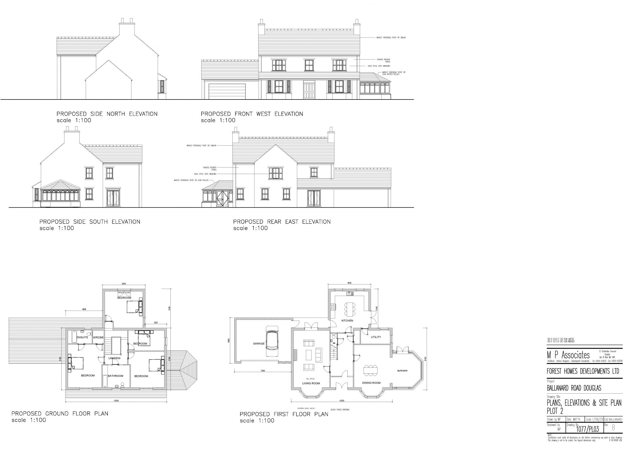 Plot 2, Shee Dy Vea, Ballanard Road, Douglas Floorplan