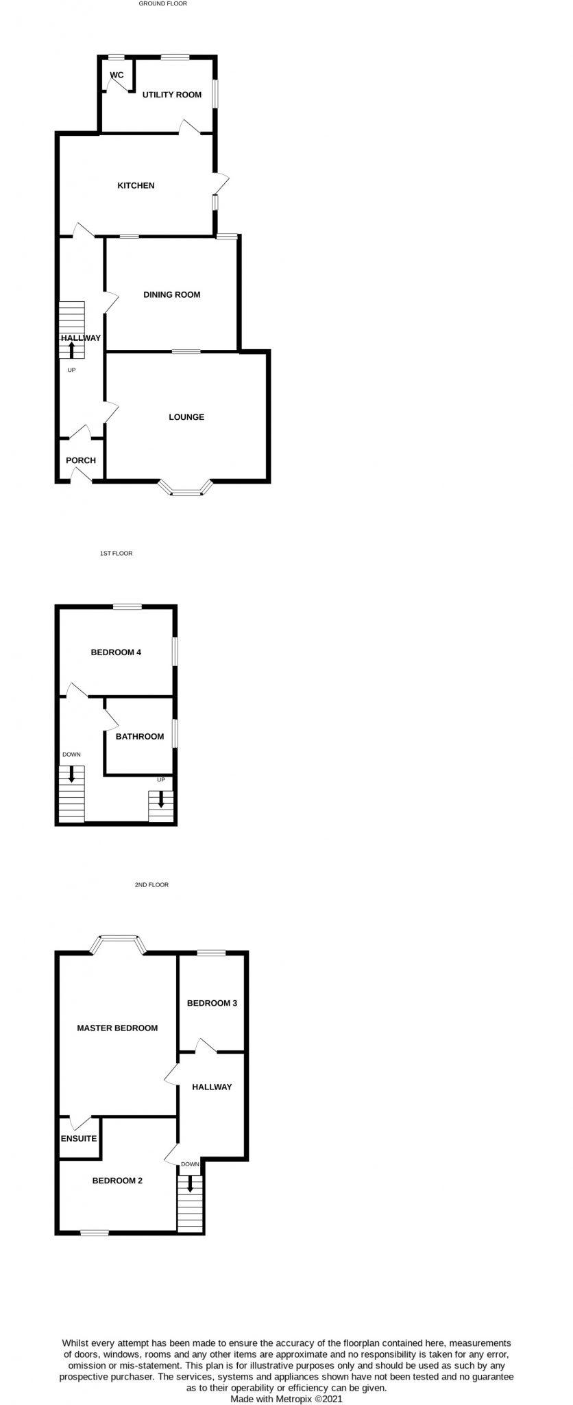 Endfield House, Port St Mary Floorplan